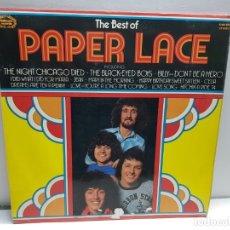Discos de vinilo: LP-PAPER LACE-THE BEST OF EN FUNDA ORIGINAL 1974. Lote 183328285