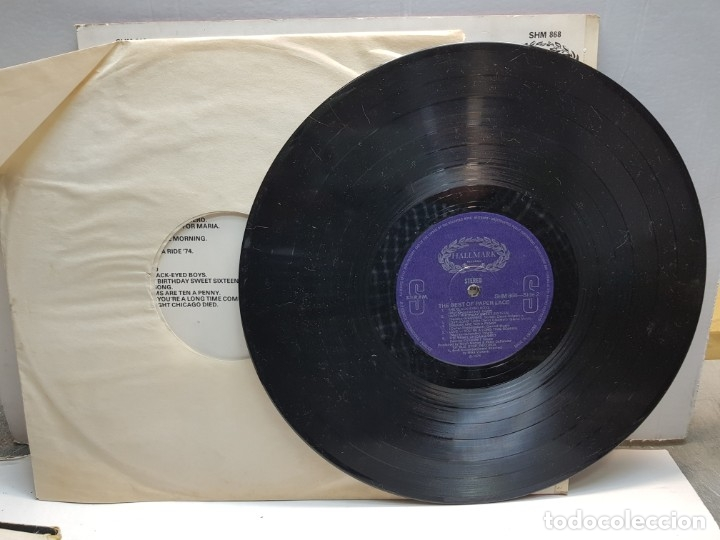 Discos de vinilo: LP-PAPER LACE-THE BEST OF en funda original 1974 - Foto 3 - 183328285