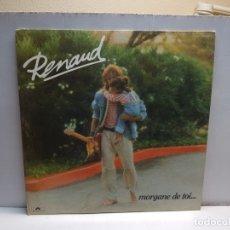 Discos de vinilo: LP-RENAUD-MORGANE DE TOI EN FUNDA ORIGINAL 1983. Lote 183329270