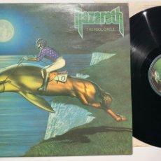 Discos de vinilo: DISCO LP VINILO NAZARETH THE FOOL CIRCLE EDICIÓN ESPAÑOLA DE 1981. Lote 183329358