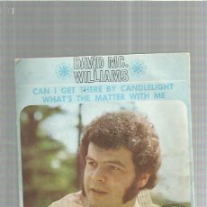 Discos de vinilo: DAVID WILLIAMS CAN I GET. Lote 183329453