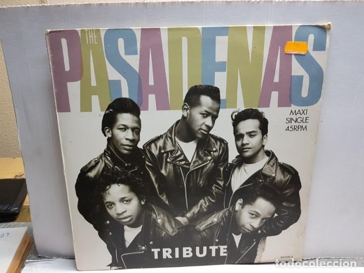 MAXISINGLE -THE PASADENAS-TRIBUTE EN FUNDA ORIGINAL 1988 (Música - Discos - LP Vinilo - Pop - Rock - New Wave Extranjero de los 80)