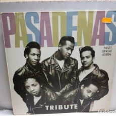 Discos de vinilo: MAXISINGLE -THE PASADENAS-TRIBUTE EN FUNDA ORIGINAL 1988. Lote 183330002