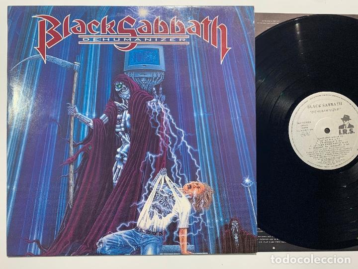 DISCO LP VINILO BLACK SABBATH – DEHUMANIZER EDICION ESPAÑOLA DE 1992 (Música - Discos - LP Vinilo - Heavy - Metal)