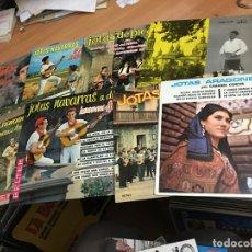 Discos de vinilo: LOTE 8 EP JOTAS NAVARRAS Y ARAGONESAS (EPI04). Lote 183335398