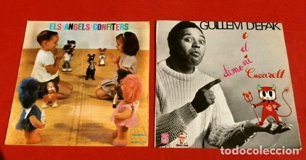 CONTES EN CATALÀ (EP. 1962-66) ELS ANGELS CONFITERS - EL DIMONI CUCARELL - GUILLEM D'EFAK - PRUNEDA (Música - Discos de Vinilo - EPs - Música Infantil)