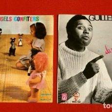 Discos de vinilo: CONTES EN CATALÀ (EP. 1962-66) ELS ANGELS CONFITERS - EL DIMONI CUCARELL - GUILLEM D'EFAK - PRUNEDA. Lote 183335461