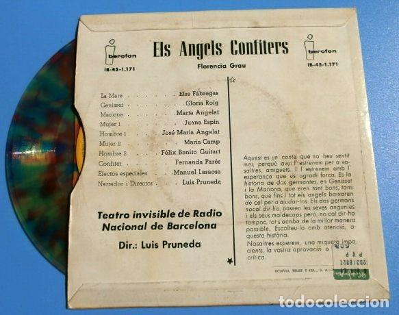 Discos de vinilo: CONTES EN CATALÀ (EP. 1962-66) ELS ANGELS CONFITERS - EL DIMONI CUCARELL - GUILLEM D'EFAK - Pruneda - Foto 4 - 183335461