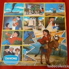 Discos de vinilo: MARCO (SINGLE 1977) BANDA ORIGINAL DE LA SERIE DE TV - ED. PARA DANONE - DE LOS APENINOS A LOS ANDES. Lote 183335877