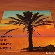 Discos de vinilo: JORGE ENRIQUE - SIERO POP / GO GO / ANAYANSY / PALMERITA - 1976 - AUDIO & VIDEO - BOA - EP 7''. Lote 183349613