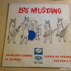 Discos de vinilo: MUSTANG, EP, UN BILLETE COMPRÓ (BEATLES) + 3, AÑO 1965. Lote 183359063