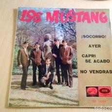 Discos de vinilo: MUSTANG, EP, ¡ SOCORRO ! (HELP) (BEATLES) + 3, AÑO 1965. Lote 183359502