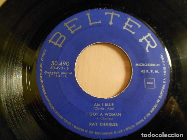 Discos de vinilo: RAY CHARLES, EP, DEED I DO + 3, AÑO 1961 - Foto 4 - 183360066
