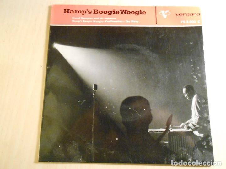 LIONEL HAMPTON AND HIS ORCHESTRA, EP, HAMP´S BOOGIE WOOGIE + 2, AÑO 1962 (Música - Discos de Vinilo - EPs - Jazz, Jazz-Rock, Blues y R&B)