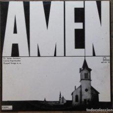 Discos de vinilo: AMEN. GOSPEL SONGS. DR. JESTER HAIRSTORN. FONTANA 885 421 TY. ESPAÑA,1966.. Lote 183363008