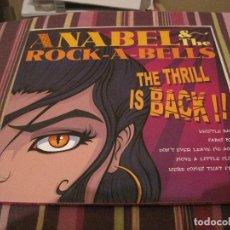 Discos de vinilo: LP 25 CTMS 10 PULGADAS ANABEL & ROCK A BELLS / LOS DERRUMBES + INSERTS NEO ROCKABILLY. Lote 183363277