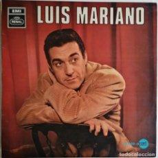 Discos de vinilo: LUIS MARIANO-LUIS MARIANO ACOMP. ORQUESTA , REGAL LREG 8066, 1J 040-10.762 M. Lote 183363885