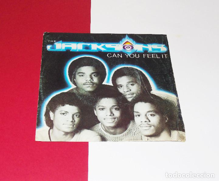 THE JACKSONS CAN YOU FEEL IT /WONDERING WHO ---EDICION 1981 (Música - Discos - Singles Vinilo - Disco y Dance)