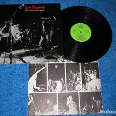 Discos de vinilo: LOS SUAVES LP ESTA VIDA ME VA A MATAR 1ª EDICIÓN 1982 SOCIEDAD FONOGRAFICA ASTURIANA LSFA-30 EX RARO. Lote 183369032