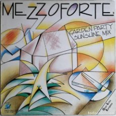 Discos de vinilo: MEZZOFORTE-THIS IS THE NIGHT GARDEN PARTY (SUNSHINE MIX), KEY RECORDS INT. KRI-006. Lote 183369365