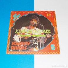 Discos de vinilo: JOHNNY RIVES -- JOHN LEE HOOKER ( VERSION ORIGINAL ) / A HARD DAY´S NIGHT ( LENNON & MCCARTNEY ) . Lote 183373506