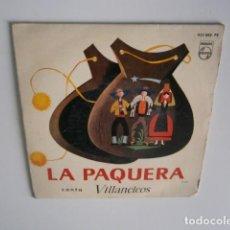 Discos de vinilo: LA PAQUERA VILLANCICOS.PASTORCILLOS QUE ANDAIS/TENDED LA ROPA.. EP 1962 . Lote 183379588