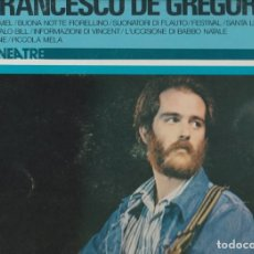 Discos de vinilo: IL MONDO DI FRANCESCO DE GERGORI RCA ITALIANA LINEA TRE 1976 DIFF COVER . Lote 183379621