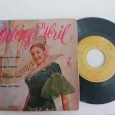 Discos de vinilo: DOLORES ABRIL-EP AL PRIMER DERROTE +3. Lote 183381181