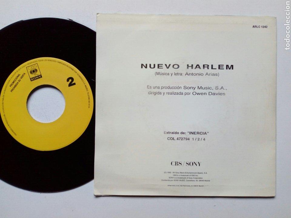 Discos de vinilo: (PROMO) - LAGARTIJA NICK : Nuevo Harlem (CBS/Sony, 1993) - Disco Promocional - Single - Foto 2 - 183358557