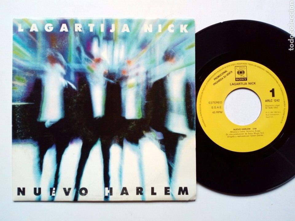 (PROMO) - LAGARTIJA NICK : NUEVO HARLEM (CBS/SONY, 1993) - DISCO PROMOCIONAL - SINGLE (Música - Discos - Singles Vinilo - Grupos Españoles de los 90 a la actualidad)