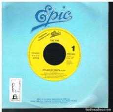 Discos de vinilo: THE THE - JEALUS OF YOUTH - SINGLE 1991 - PROMO. Lote 183385321