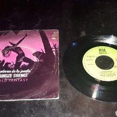Discos de vinilo: TAMBORES DE LA JUNGLA JUNGLE DRUMS WILD FANTASY. Lote 183385617
