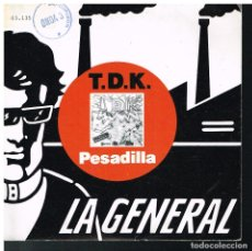 Discos de vinilo: T DE K - PESADILLA / MAGUU X HEIKE - SINGLE 1988. Lote 183386703
