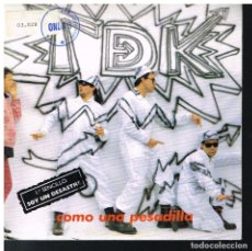 Discos de vinilo: T DE K - SOY UN DESASTRE / PESADILLA - SINGLE 1988. Lote 183386936