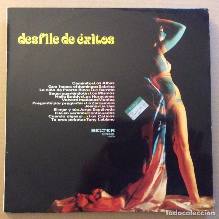 DESFILE DE ÉXITOS, RECOPILATORIO BELTER (1971) (Música - Discos - LP Vinilo - Grupos Españoles de los 70 y 80)