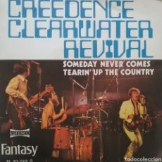 Discos de vinilo: GREEDENCE CLEARWATER REVIVAL. SINGLE. SELLO FANTASY. EDITADO EN ESPAÑA. AÑO 1972. Lote 183387226