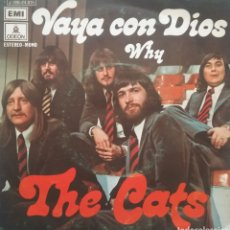 Discos de vinilo: THE CATS. SINGLE. SELLO EMI ODEON. EDITADO EN ESPAÑA. AÑO 1973. Lote 183387660