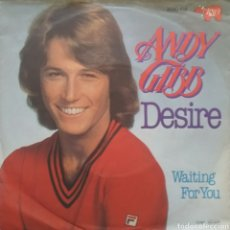 Discos de vinilo: ANDY GIBB. SINGLE. SELLO RSO. EDITADO EN ALEMANIA.. Lote 183388292