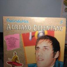 Discos de vinilo: LP ADRIANO CELENTANO : INOLVIDABLES ( CONTIENE AZZURRO, NATA PER ME, DESIDERO TE, 24.000 BACI, ETC. Lote 183391211