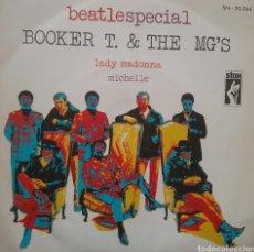 Discos de vinilo: BOOKER T. & THE MG S. SINGLE. SELLO STAX. EDITADO EN ESPAÑA. AÑO 1970. Lote 183391910