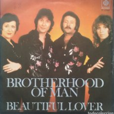 Discos de vinilo: BROTHERHOOD OF MAN. SINGLE. SELLO PYE RÉCORDS. EDITADO EN ESPAÑA. AÑO 1978. Lote 183392100