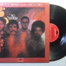 Discos de vinilo: LP - RETURN TO FOREVER - NO MYSTERY - POLYDOR - 1984. Lote 183395602