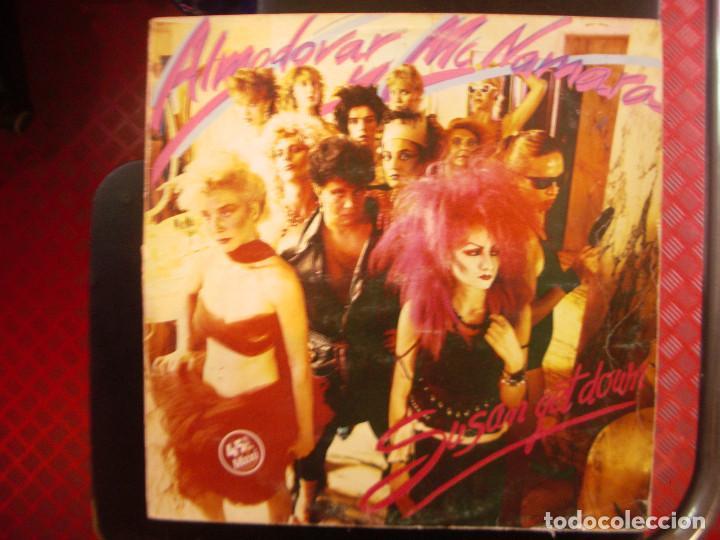 ALMODOVAR Y MCNAMARA- SUSAN GET DOWN. MAXISINGLE. (Música - Discos de Vinilo - Maxi Singles - Grupos Españoles de los 70 y 80)