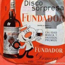 Discos de vinilo: DISCO SORPRESA FUNDADOR – 10.118 A LA BUENA DE DIOS-LLORANDO EN LA CAPILLA-MAI, MAI, VALENTIN 1967. Lote 183395936