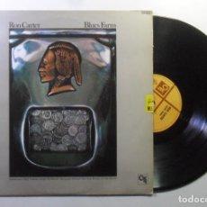 Discos de vinilo: LP - RON CARTER - BLUES FARM - HISPAVOX - 1983. Lote 183397855