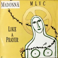 Discos de vinilo: MAXI LP. MADONNA. LIKE A PRAYER.. Lote 183397928