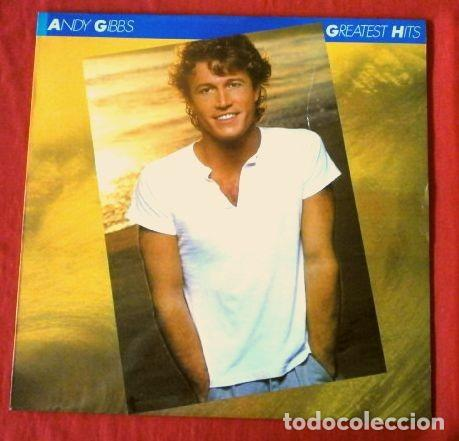 Discos de vinilo: ANDY GIBB'S GIBBS (LP 1980) GREATEST HITS (HERMANO DE LOS BEE GEES) TIME IS TIME, AFTER DARK, - Foto 1 - 183401591