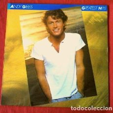 Discos de vinilo: ANDY GIBB'S GIBBS (LP 1980) GREATEST HITS (HERMANO DE LOS BEE GEES) TIME IS TIME, AFTER DARK,. Lote 183401591