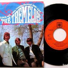 Discos de vinilo: THE TREMELOES - AS YOU ARE (TAL COMO ESTAS) - SINGLE CBS 1968 BPY. Lote 183404882