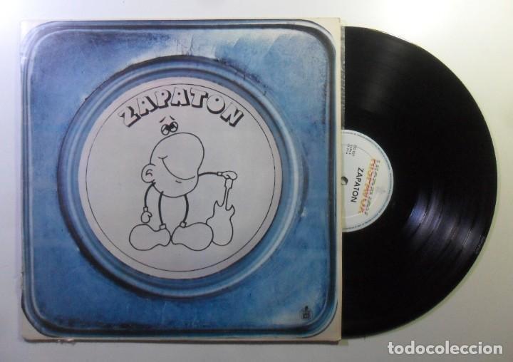 LP - ZAPATON - HISPAVOX - 1976 (Música - Discos - LP Vinilo - Grupos Españoles de los 70 y 80)